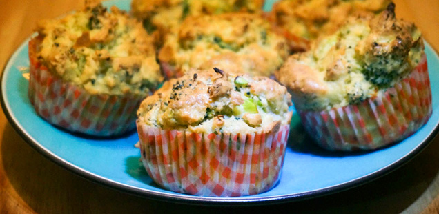 Broccoli-muffins